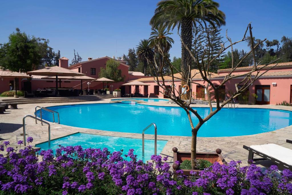 The swimming pool at or near Wyndham Costa del Sol Arequipa