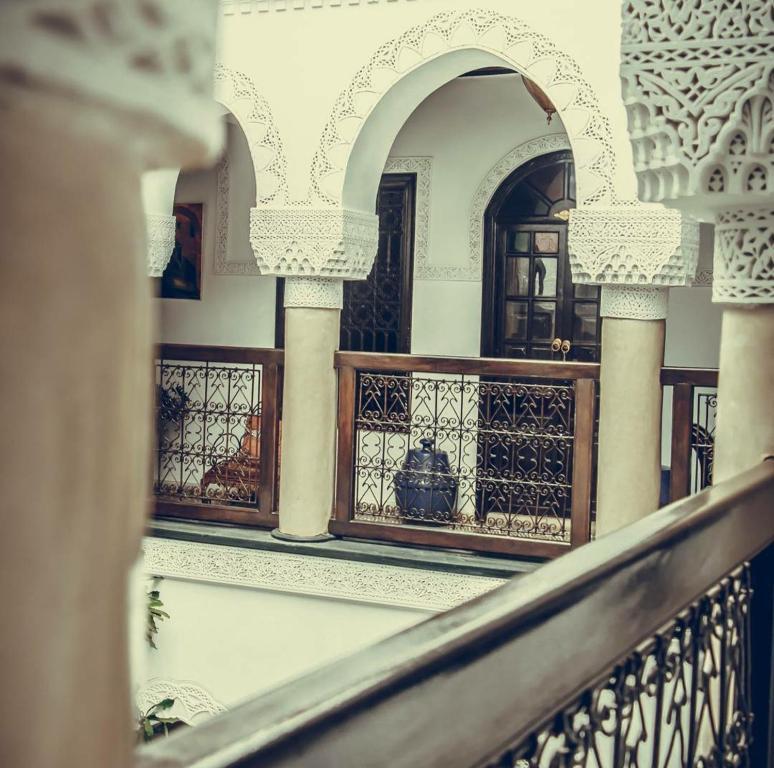 A balcony or terrace at Riad Adriana