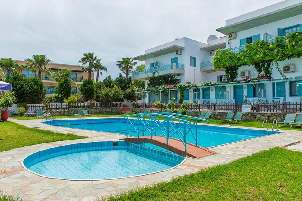 The swimming pool at or near Anatoli Apartments