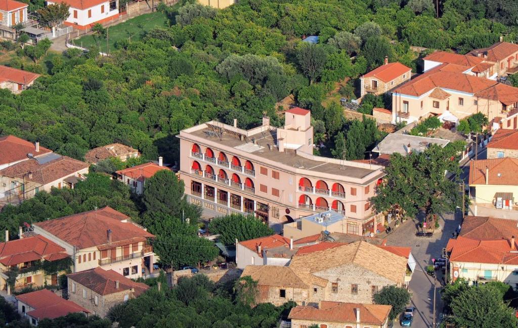 A bird's-eye view of Byzantion Hotel