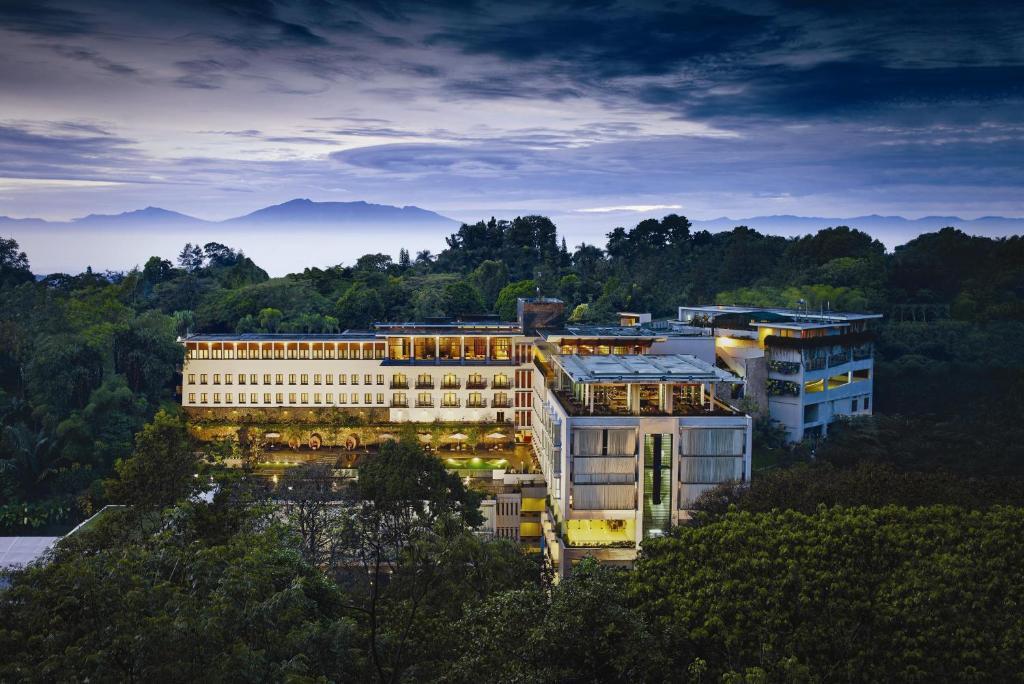 Padma Hotel Bandung a vista de pájaro