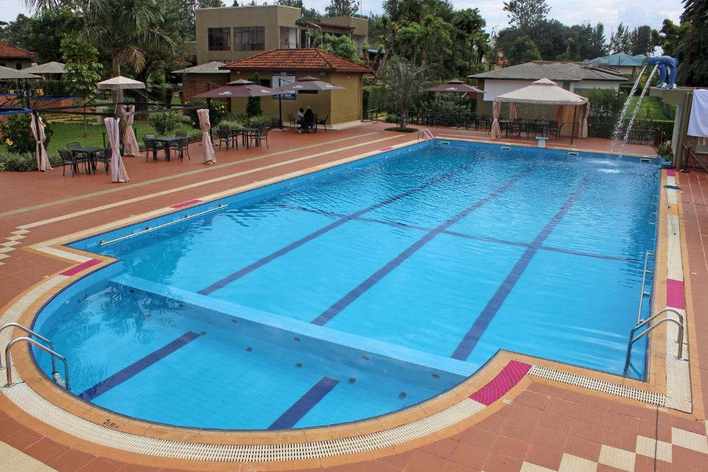 The swimming pool at or near Dereva Hotel Rwamagana