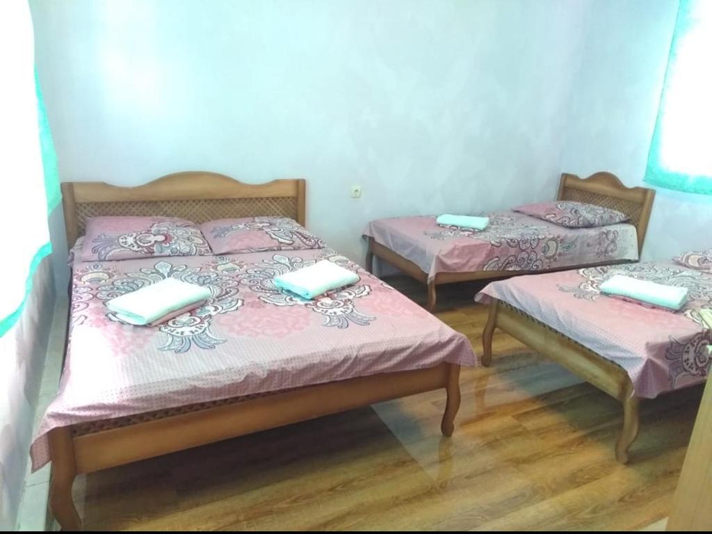 Кровать или кровати в номере У Ясны