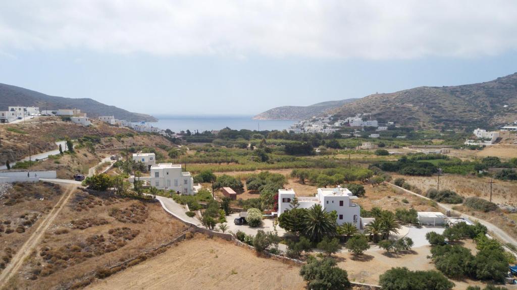 Άποψη από ψηλά του Villa Katapoliani No.3