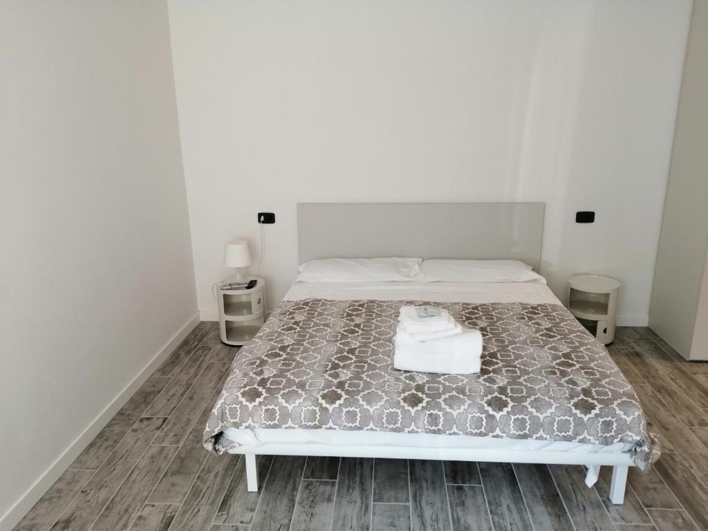 Cama o camas de una habitación en Elle Apartaments Muradei 33