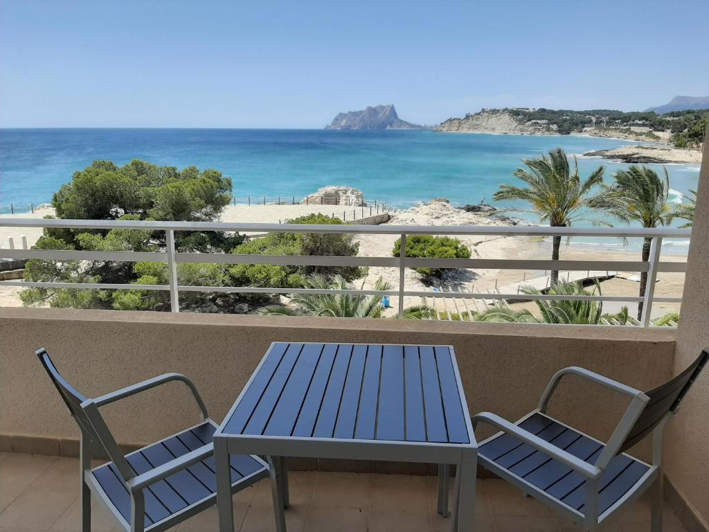 Balkón nebo terasa v ubytování Ver el mar desde la habitación