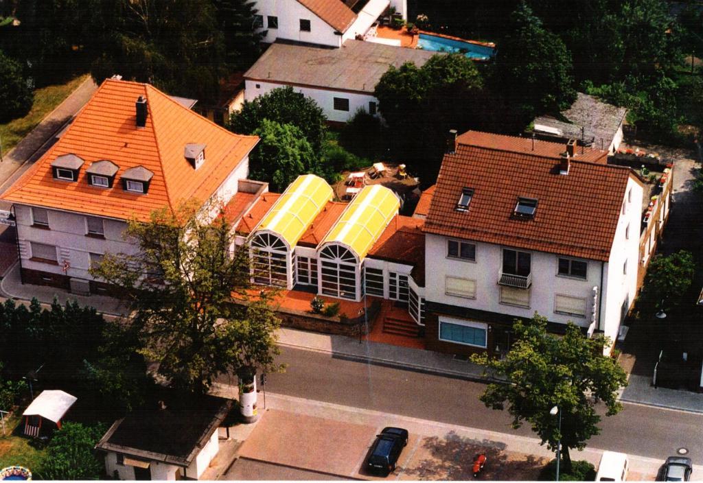 A bird's-eye view of Hotel Goldinger