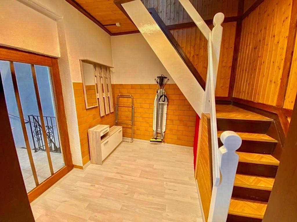 Ein Badezimmer in der Unterkunft Ferienhaus Zur Abzuchtinsel