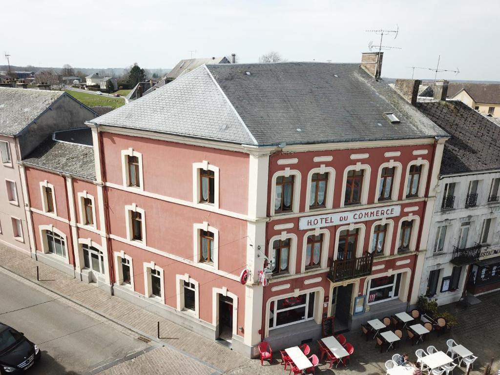 Hotel du commerce Rocroi, France