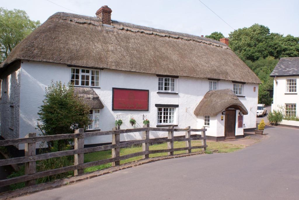 The New Inn in Crediton, Devon, England