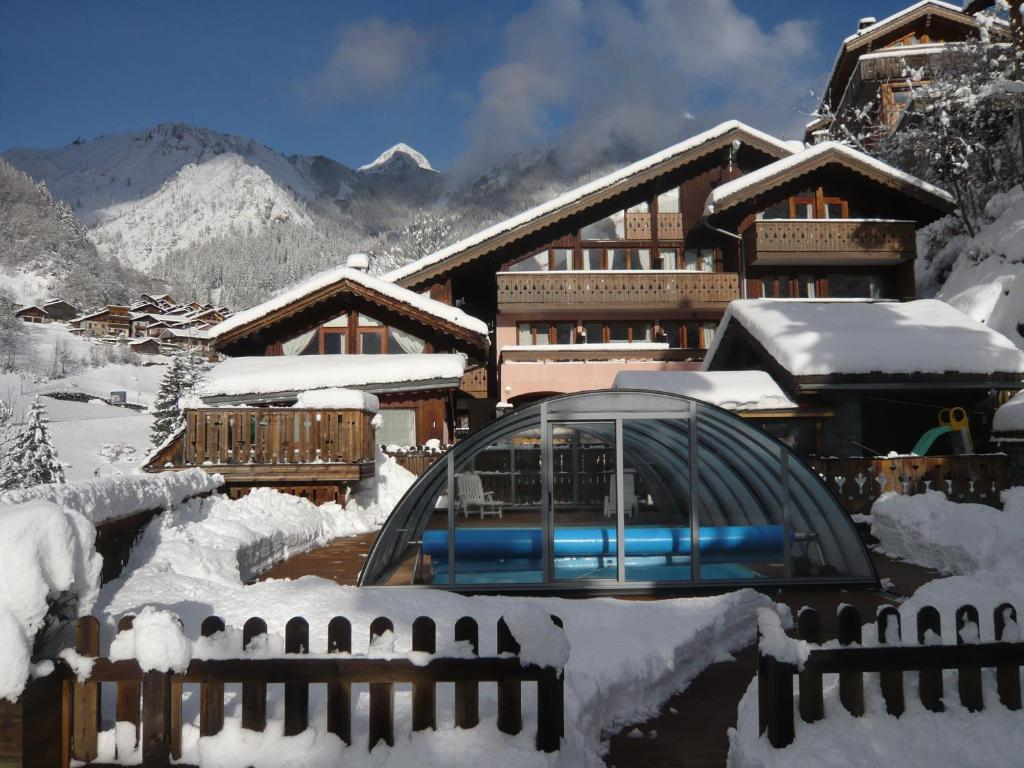 Обои Vanoise, дома, альпы, деревня, france, вануаз. Города foto 12