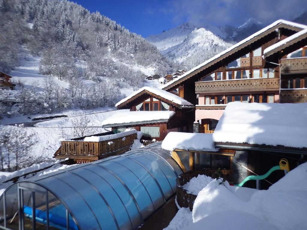Обои Vanoise, дома, альпы, деревня, france, вануаз. Города foto 15