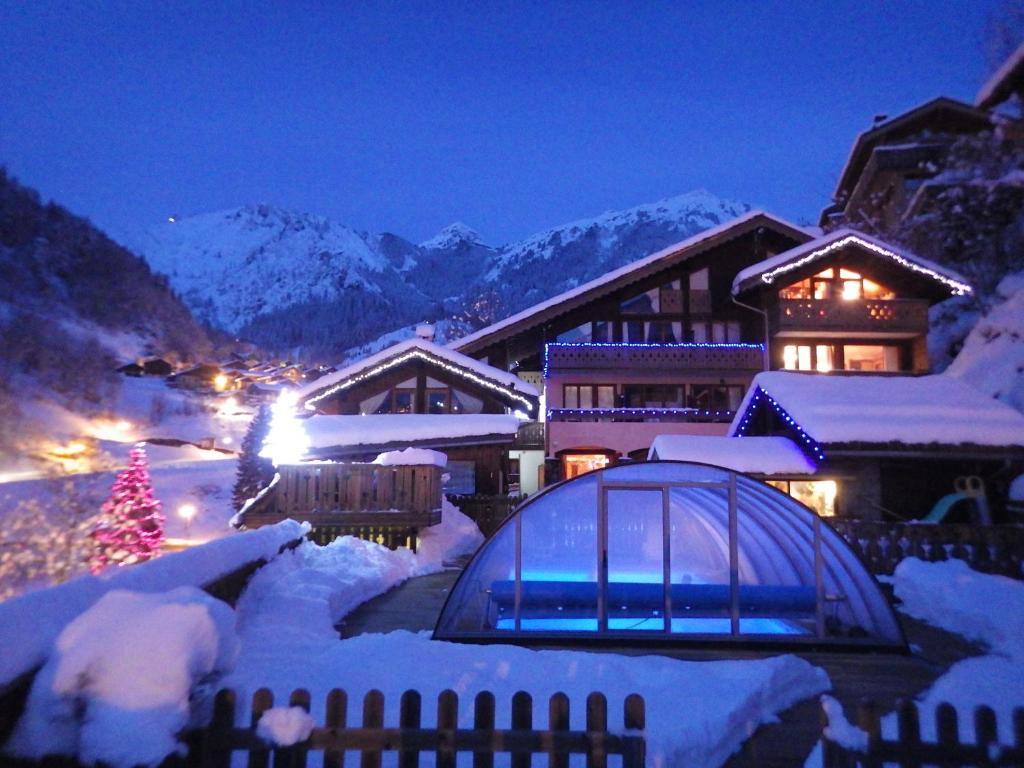 Обои Vanoise, дома, альпы, деревня, france, вануаз. Города foto 9