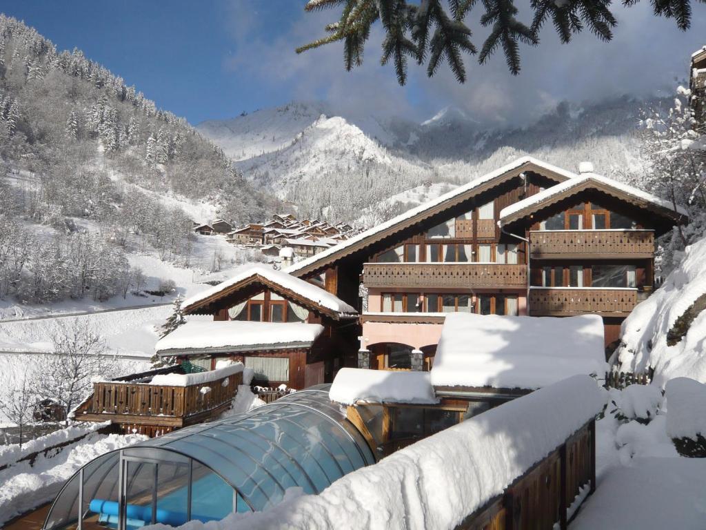 Обои Vanoise, дома, альпы, деревня, france, вануаз. Города foto 10