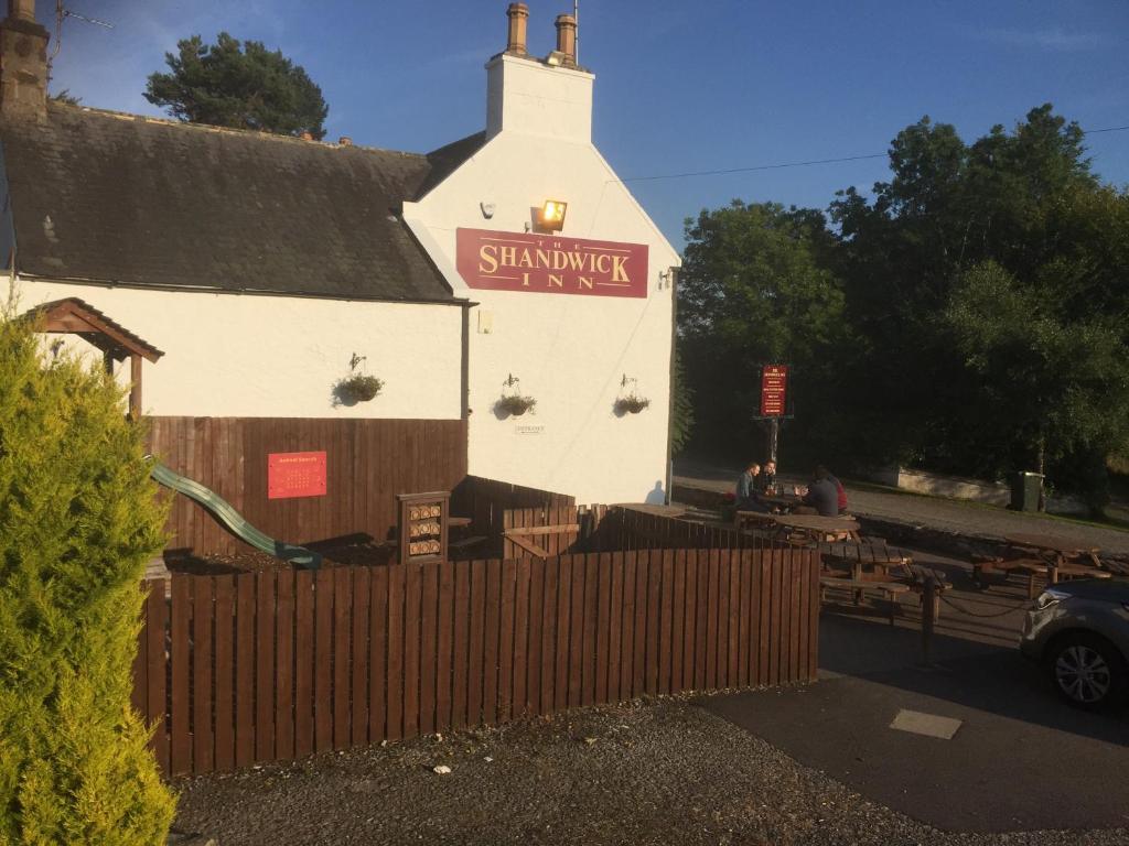 The Shandwick Inn in Tain, Highland, Scotland