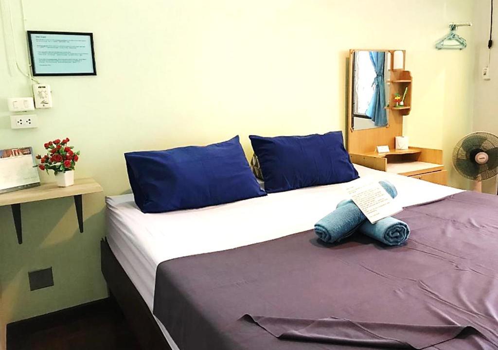 Cama o camas de una habitación en Wayside Guesthouse
