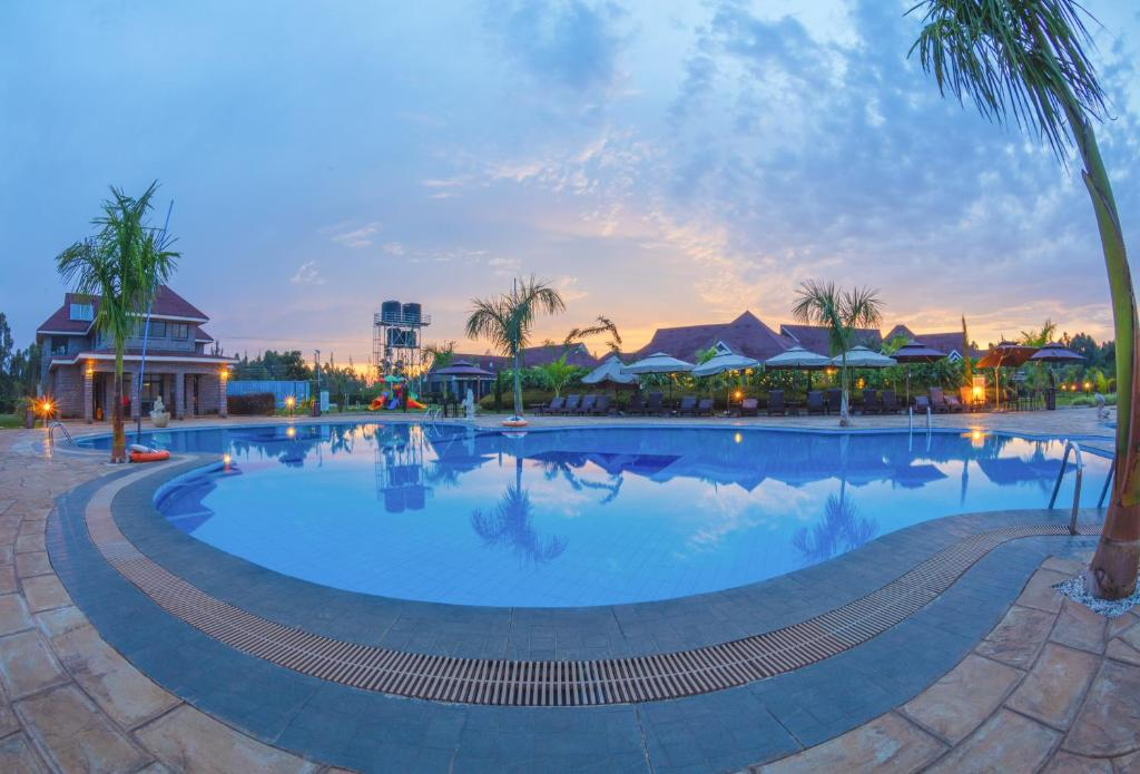 The swimming pool at or near Ciala Resort