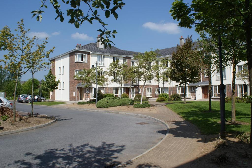 The building where the student accommodation is located