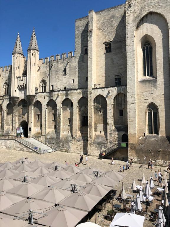 Hotel du Palais des Papes Avignon, France