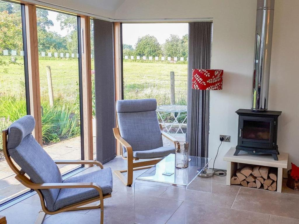 A seating area at Wrens Nest