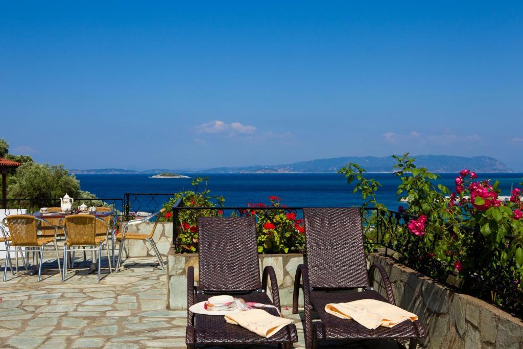 Εστιατόριο ή άλλο μέρος για φαγητό στο Hovolo Hotel Apartments