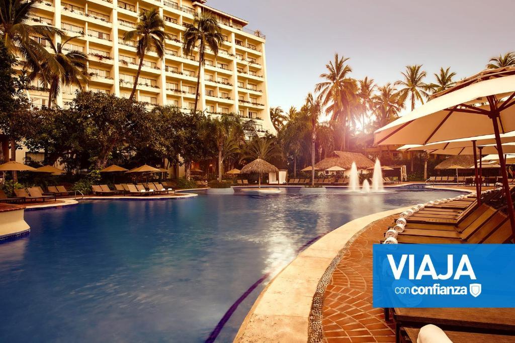 The swimming pool at or near Fiesta Americana Puerto Vallarta All Inclusive & Spa