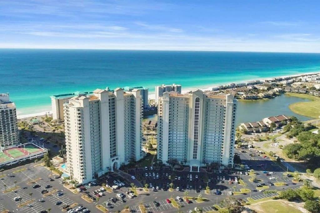 A bird's-eye view of Beachview Oasis - Ariel Dunes II - 9th Floor - 2 Bedrooms Condo