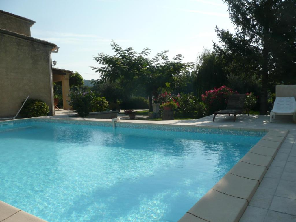 The swimming pool at or near Villa Gour du Peyrol