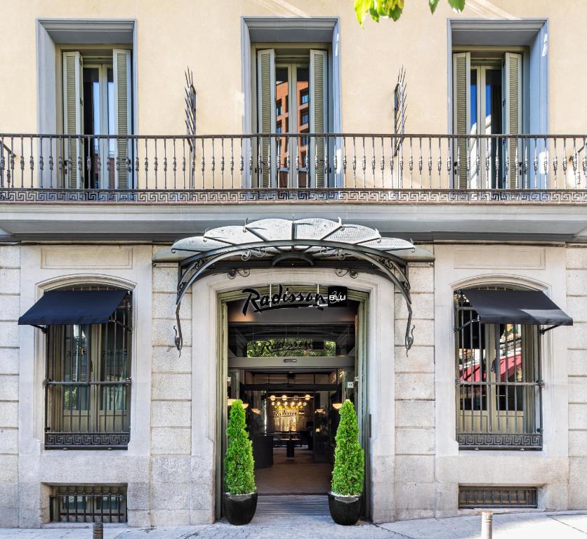 Radisson Blu Hotel, Madrid Prado Madrid, Spain