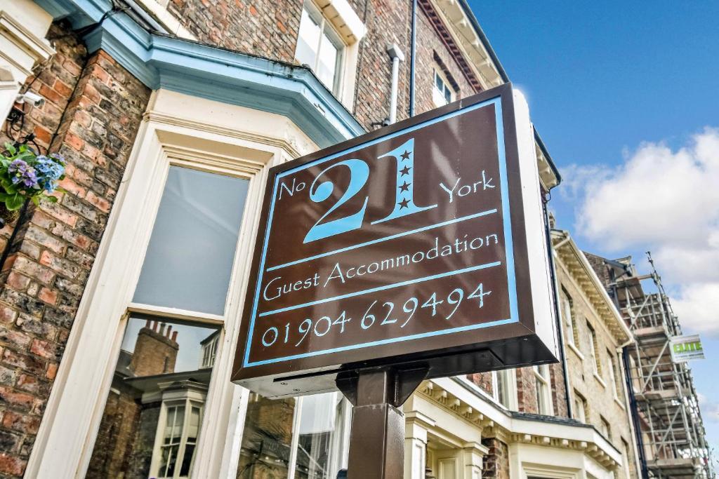 No. 21 York in York, North Yorkshire, England