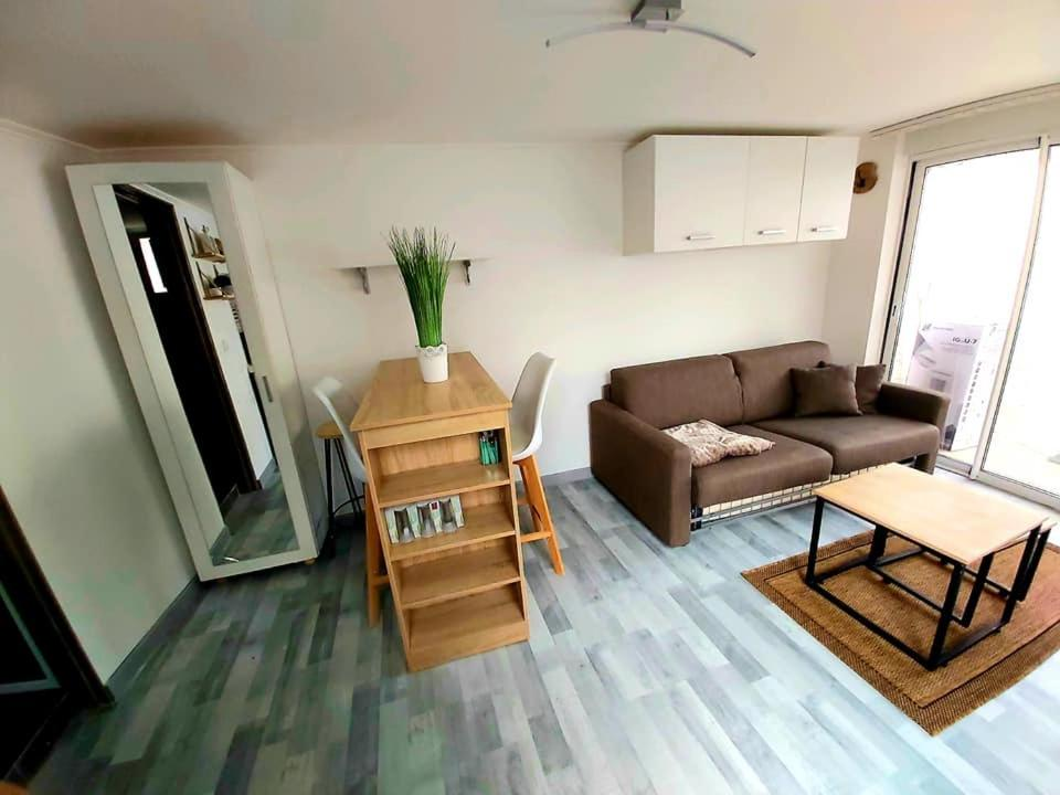 A cozy private studio near Luxembourg and Metz