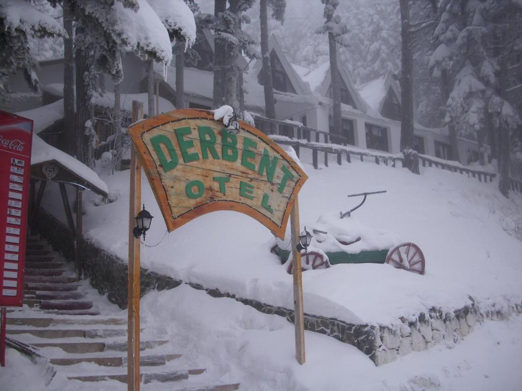 Ilgaz Derbent Hotel during the winter