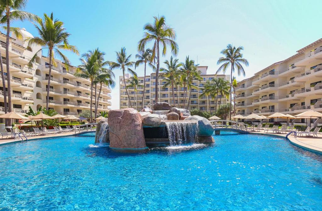 The swimming pool at or near Villa del Palmar Beach Resort & Spa Puerto Vallarta