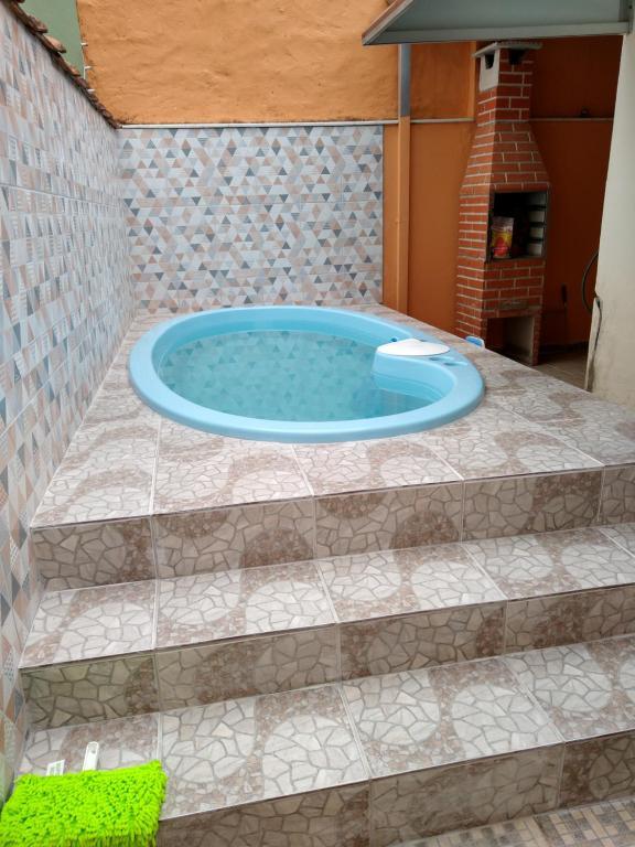Casa na Martim de Sá wi-fi piscina privativa