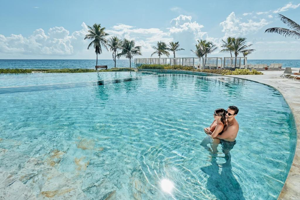 The swimming pool at or close to TRS Yucatan Hotel - Adults Only