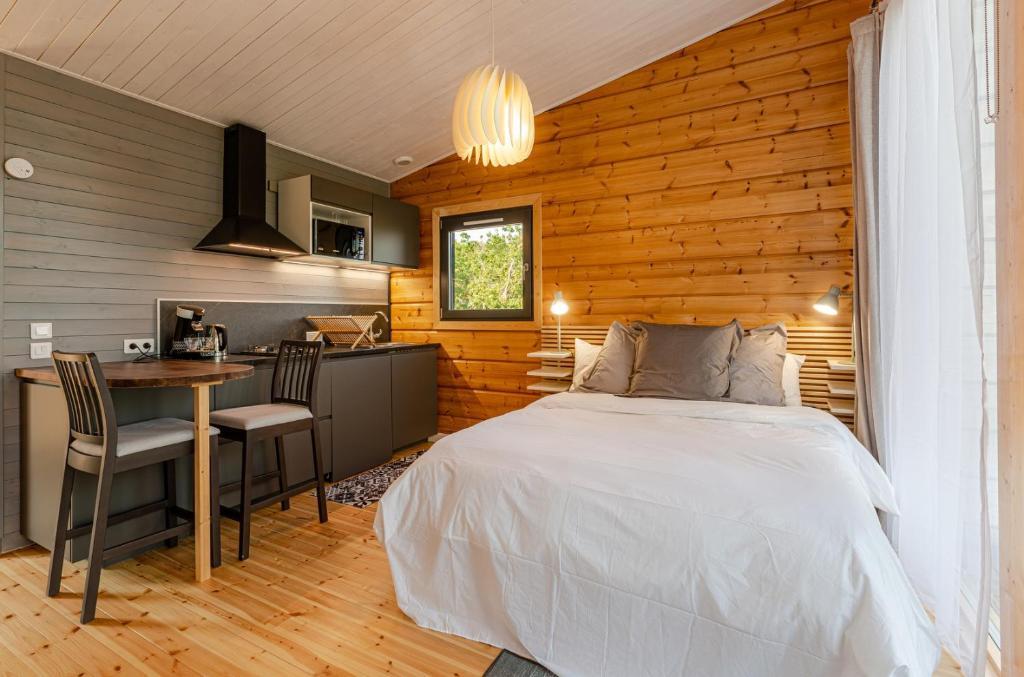 Kotéja Nature - Studio au charme nordique avec cuisine et Sauna