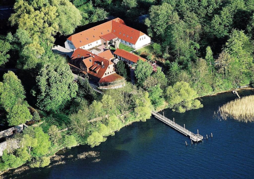 Blick auf Seehotel Heidehof aus der Vogelperspektive