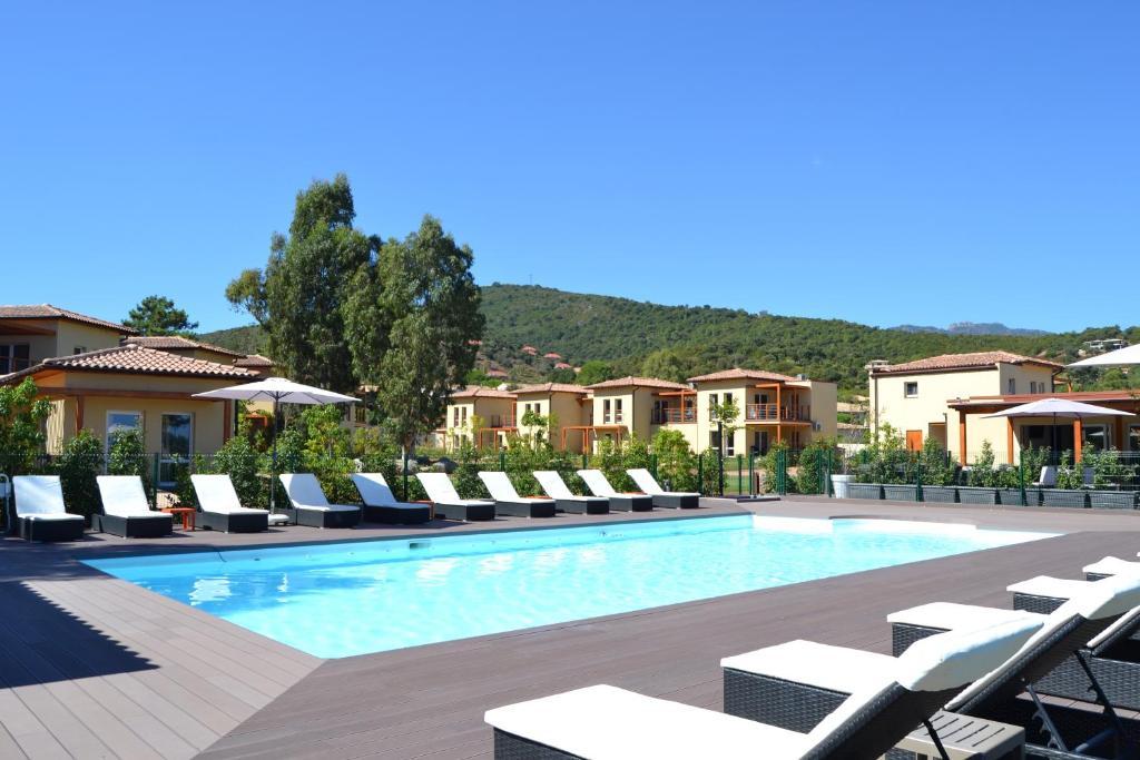 The swimming pool at or near Marina di Favona