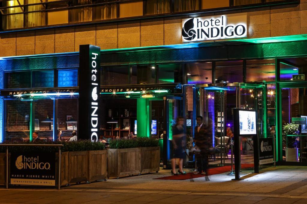 The facade or entrance of Hotel Indigo Liverpool