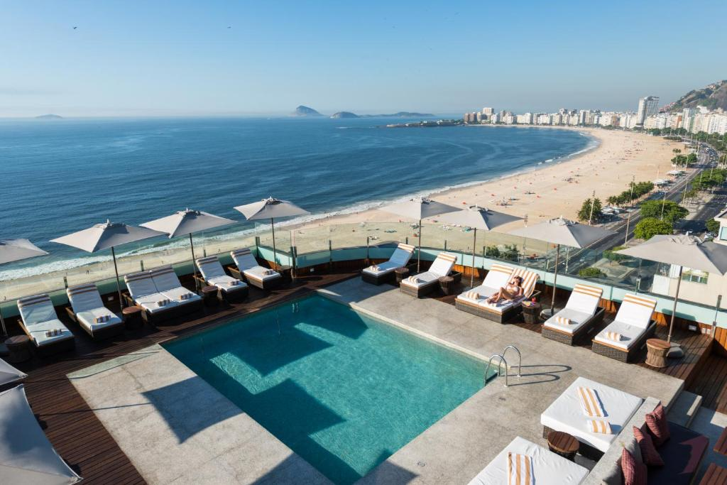 A view of the pool at PortoBay Rio de Janeiro or nearby