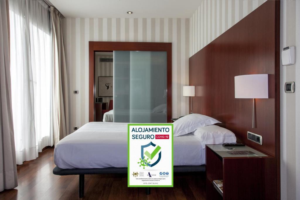 A room at Hotel Zenit Bilbao