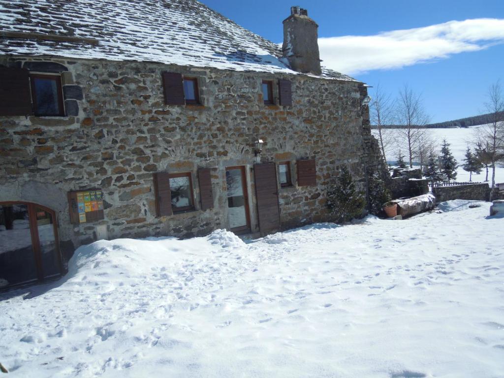 L'établissement Gite Le Francillon en hiver