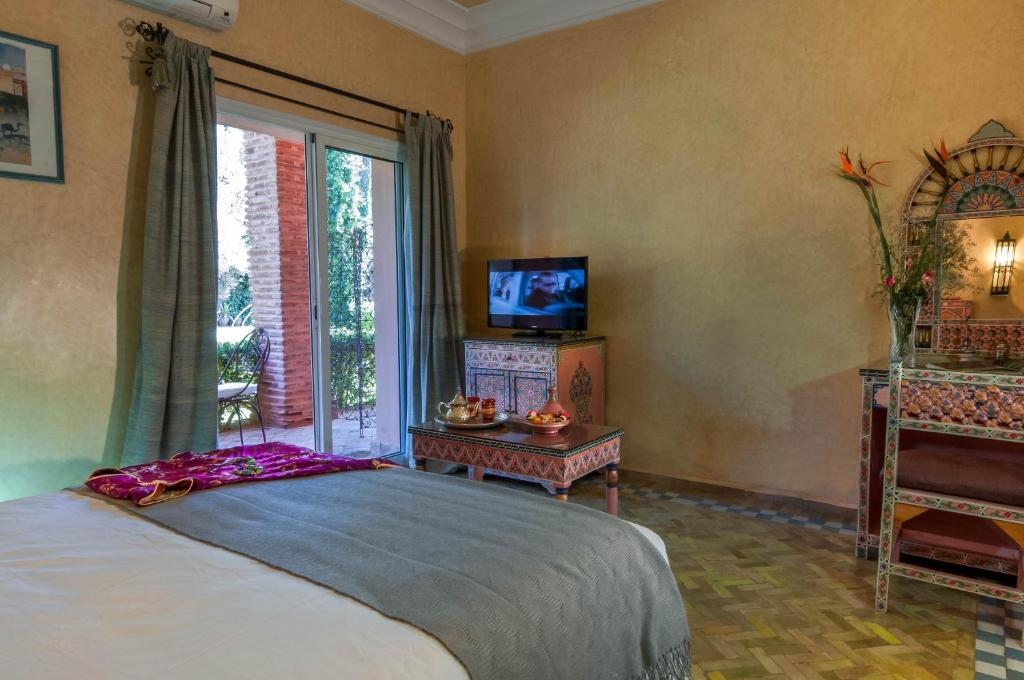 Room in BB - Double room in a charming villa in the heart of Marrakech palm grove