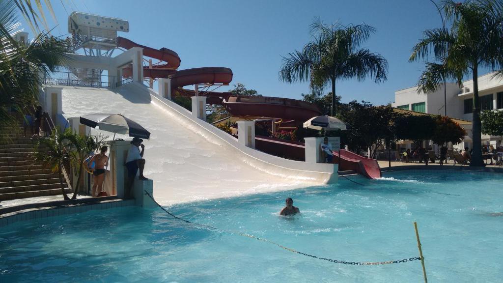 The swimming pool at or near Lacqua diRoma - Caldas Novas