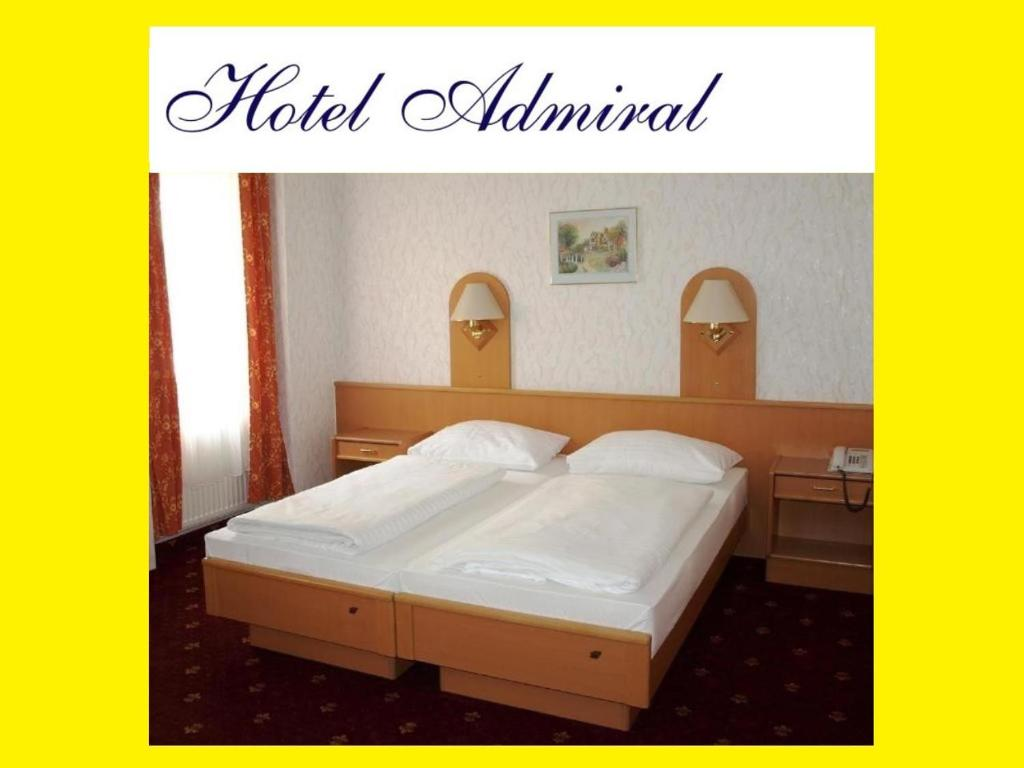 A room at Hotel Admiral