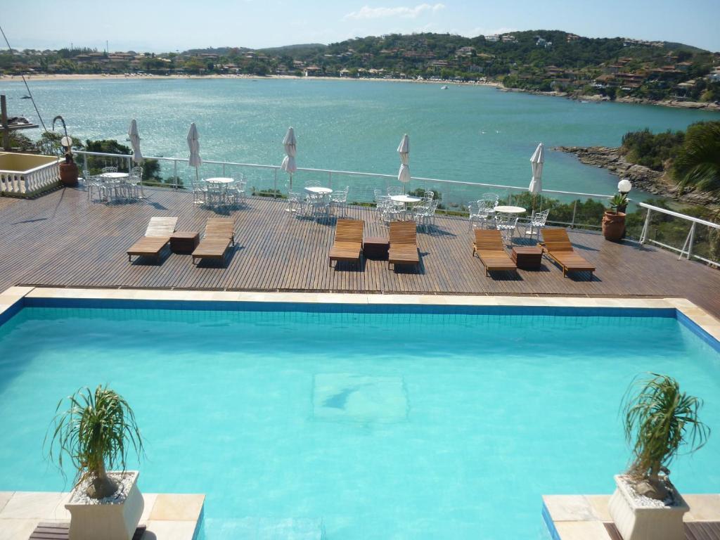 Uma vista da piscina em Unicornio & SPA BY MN Hotéis ou nos arredores