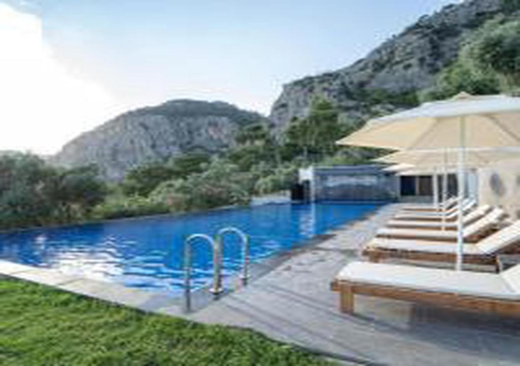 Duplex with Shared Pool & Amazing View in Gocek