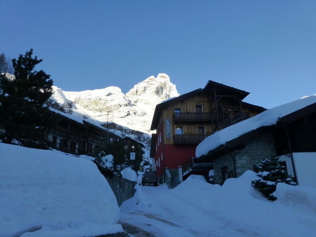 Hosquet Lodge im Winter