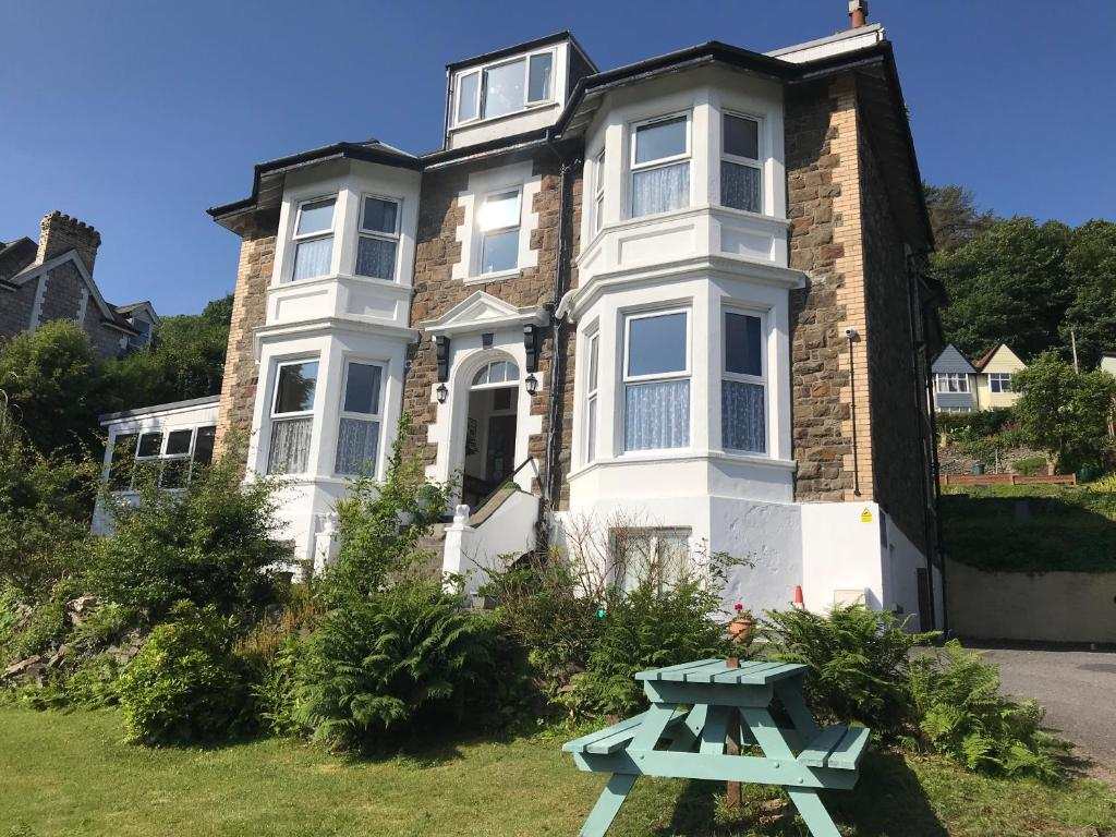 Cairn House in Ilfracombe, Devon, England