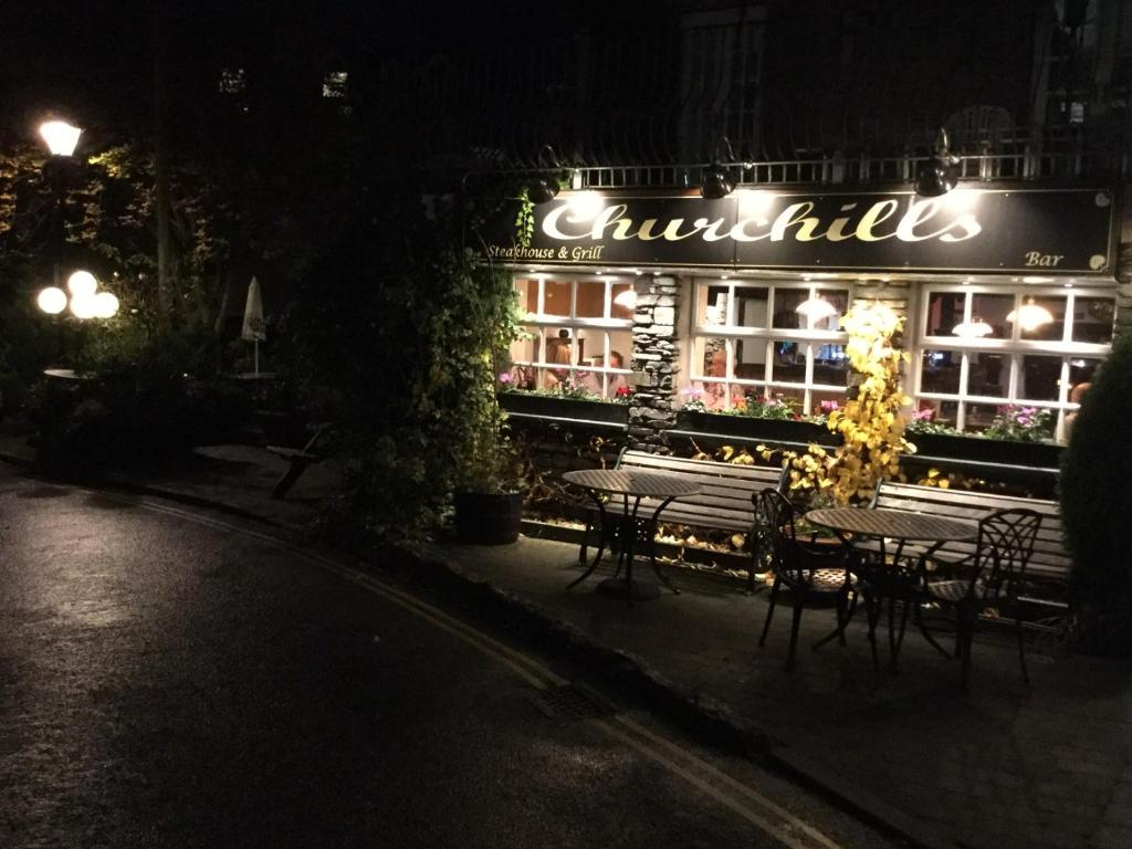 White House Hotel & Restaurant in Bowness-on-Windermere, Cumbria, England